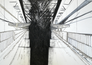 Bridges VII, 2016, drawing
